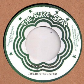 "(7"") DELROY WEBSTER - MARCUS PROPHECY / VERSION"