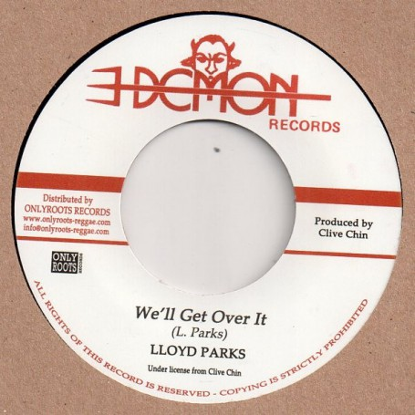 "(7"") LLOYD PARKS - WE'LL GET OVER IT / SKIN FLESH & BONES - WE'LL GET OVER IT (Part 2)"