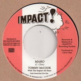 "(7"") TOMMY MCCOOK WITH THE IMPACT ALL STARS - JARO / MARO"