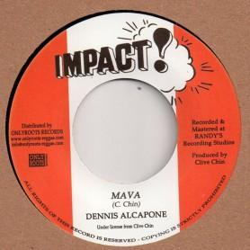 """(7"""") DENNIS ALCAPONE - MAVA / IMPACT ALL STARS - MAVA PASSION"""