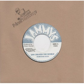 "(7"") HORTENSE ELLIS - JAH CREATED THE WORLD / DREADER DUB"