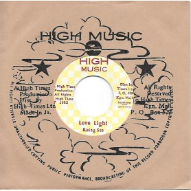 "(7"") RISING SUN - LOVE LIGHT / HIGH TIMES ALL SAINTS - LEAVING ROME"
