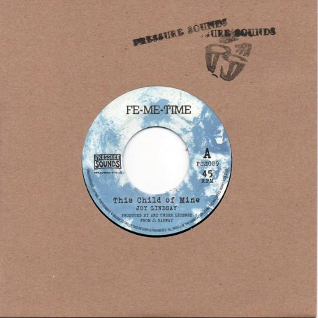 "(7"") JOY LINDSAY - THIS CHILD OF MINE / VERSION"
