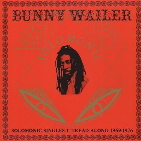 (2xLP) BUNNY WAILER - SOLOMONIC SINGLES 1 : TREAD ALONG 1969-1976