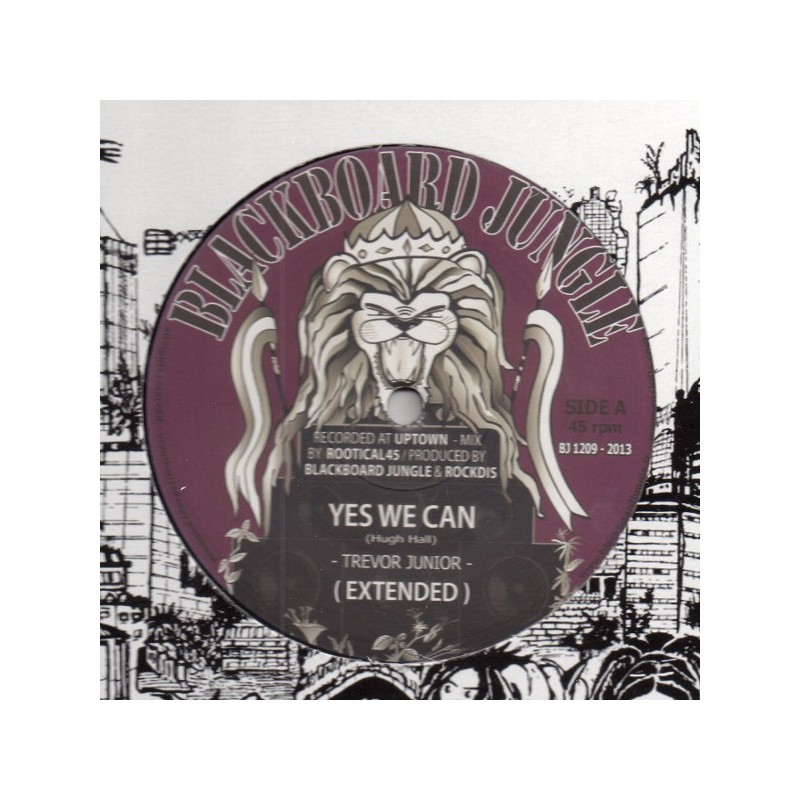 """(12"""") TREVOR JUNIOR - YES WE CAN / ANTHONY JOHN - POWER TO THE PEOPLE"""