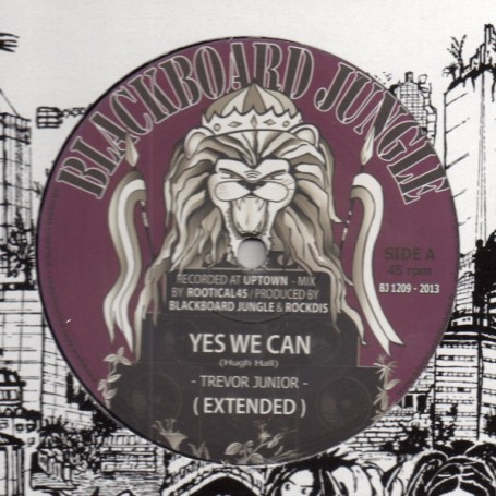 "(12"") TREVOR JUNIOR - YES WE CAN / ANTHONY JOHN - POWER TO THE PEOPLE"