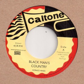 "(7"") HORACE HINDS - BLACK MAN'S COUNTRY / PETER AUSTIN - TIME IS GETTING HARDER"