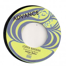 "(7"") JUNIOR BYLES - LORNA BANANA / STRAIGHT TO SCRATCH HEAD"