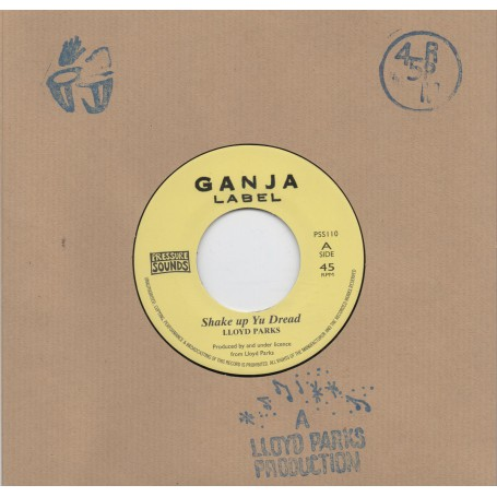 "(7"") LLOYD PARKS - SHAKE UP YU DREAD / KOW ALL STARS - SHAKE UP DUBWISE"