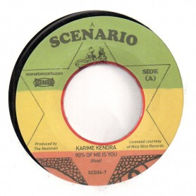"(7"") KARIME KENDRA - 90% OF ME IS YOU / INSTRUMENTAL"