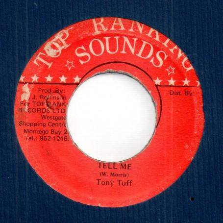 "(7"") TONY TUFF - TELL ME / DEAN FRASER - BEARDMAN SKANK"
