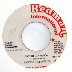 """(7"""") JOHNNY OSBOURNE - MOTHER AFRICA / VERSION"""