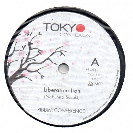 "(7"") RIDDIM CONFERENCE - LIBERATION LION"