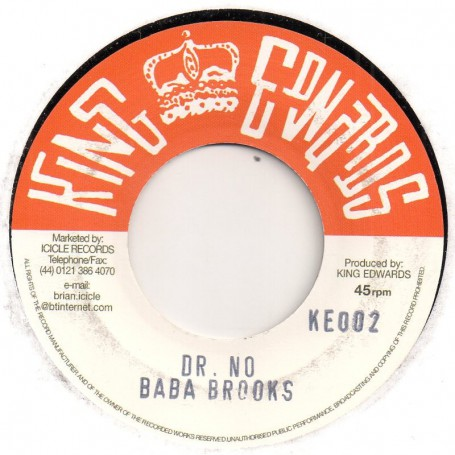 "(7"") BABA BROOKS - DR NO / LORD TANAMO - I HAD A DREAM"