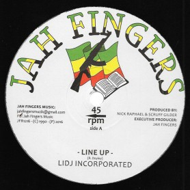 "(12"") LIDJ INCORPORATED - LINE UP / DUB UP / LINE UP DUB"