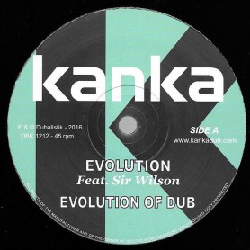 "(12"") KANKA FEAT SIR WILSON - EVOLUTION / TURN THE PAGES"