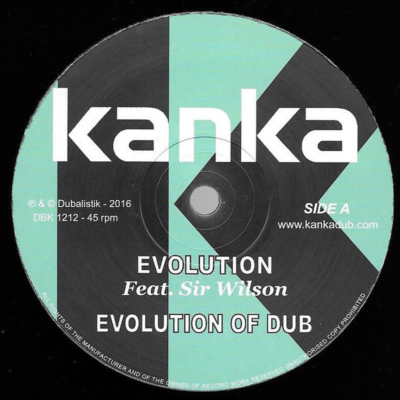 """(12"""") KANKA FEAT SIR WILSON - EVOLUTION / TURN THE PAGES"""