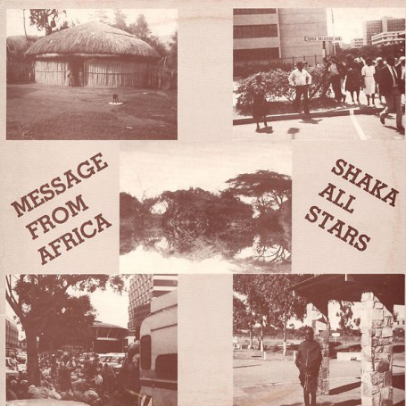(LP) JAH SHAKA - MESSAGE FROM AFRICA