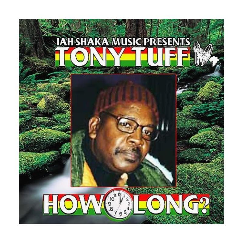 (LP) TONY TUFF - HOW LONG - JAH SHAKA