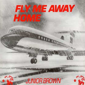 (LP) JUNIOR BROWN - FLY ME AWAY HOME - JAH SHAKA