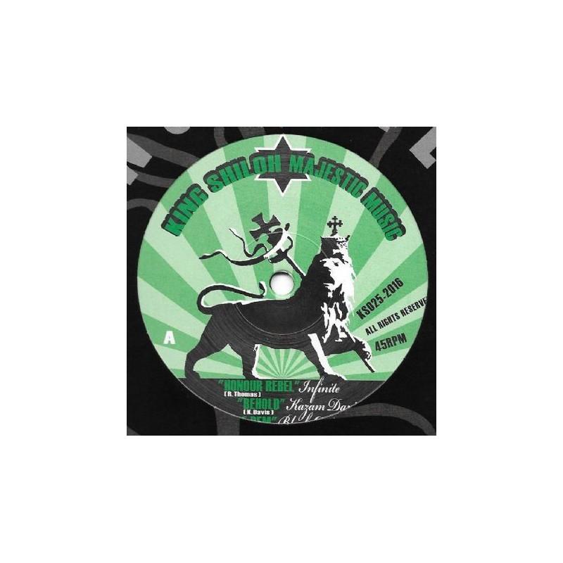 "(12"") INFINITE - HONOUR REBEL, KAZAM DAVIS - BEHOLD, BLACK OMOLO - WIRE DEM + DUB CREATOR VERSION"
