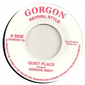 """(7"""") HORACE ANDY - QUIET PLACE / KING TUBBY & THE AGGROVATORS - DUB PLACE"""