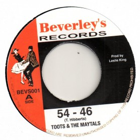 "(7"") TOOTS & THE MAYTALS - 54 - 46 / PRESSURE DROP"