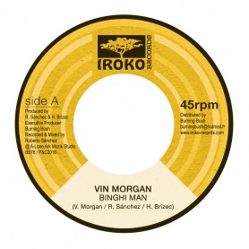 "(7"") VIN MORGAN - BINGHI MAN / LONE ARK - VERSION"