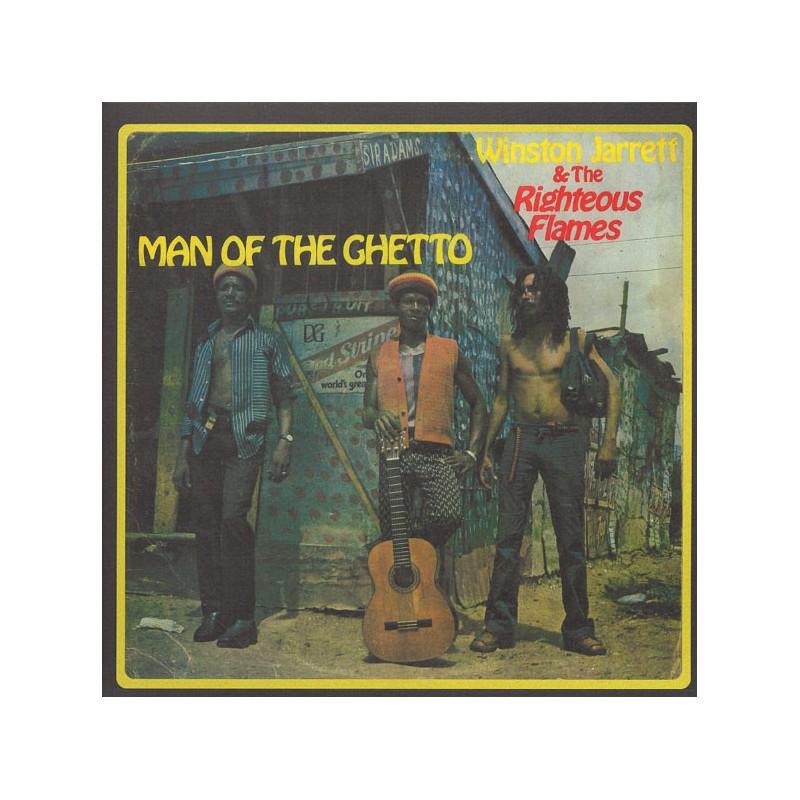 (LP) WINSTON JARRETT - MAN OF THE GHETTO