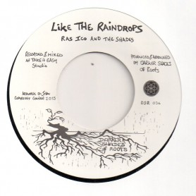 """(7"""") ASH & WILLOW - ITEMPLATION / RAS ICO AND THE SHADES - LIKE THE RAINDROPS"""