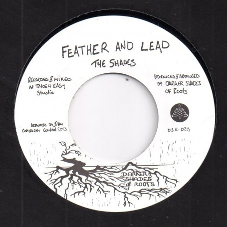 "(7"") THE SHADES - FEATHER AND LEAD / THY HANDS VERSION"