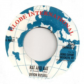 "(7"") DEVON RUSSELL - RAT & BAT / RACE TRACK RIOT VERSION"