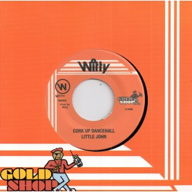 "(7"") LITTLE JOHN - CORK UP DANCEHALL / VERSION"