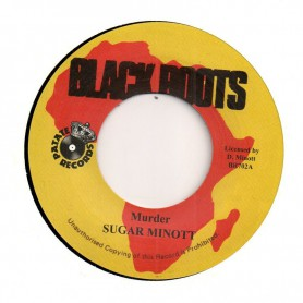 "(7"") SUGAR MINOTT - MURDER / VERSION"