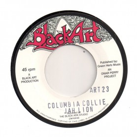"(7"") JAH LION - COLUMBIA COLLIE / DREAD INA JAMDONG"