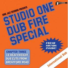 (2xLP) STUDIO ONE DUB FIRE SPECIAL : CHAPTER THREE 18 HEAVYWEIGHT DUB CUTS FROM BRENTFORD ROAD