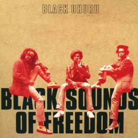 (LP) BLACK UHURU - BLACK SOUNDS OF FREEDOM