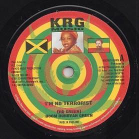 "(7"") BOOM DONOVAN GREEN - I'M NO TERRORIST"