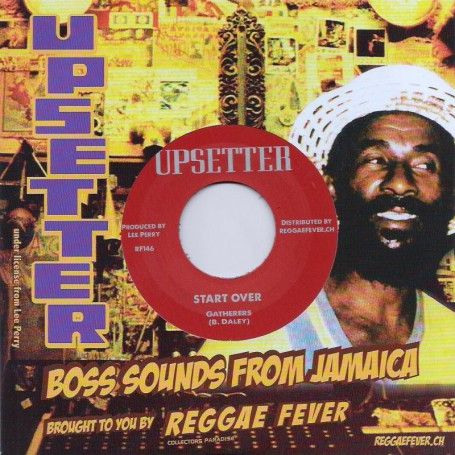 "(7"") GATHERERS - START OVER / UPSETTERS - START OVER VERSION"