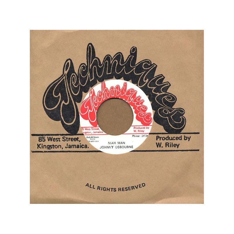 "(7"") JOHNNY OSBOURNE - NIAH MAN / ALTON ELLIS - SOUL GROOVER"