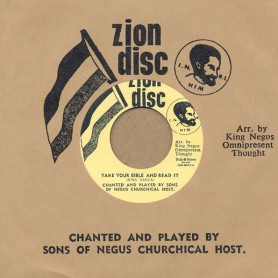 "(7"") SONS OF NEGUS CHURCHIVAL HOST - TAKE YOUR BIBLE AND READ IT / LION OF JUDAH"