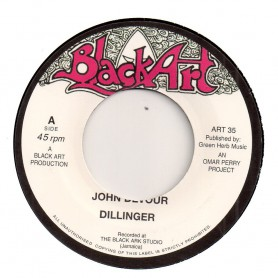 "(7"") DILLINGER - JOHN DEVOUR / DAVID ISAACS - A PLACE IN THE SUN"