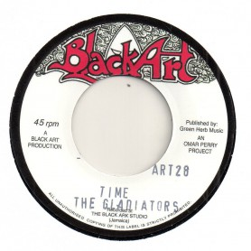 """(7"""") THE GLADIATORS - TIME / THE UPSETTERS - DUB IN TIME"""