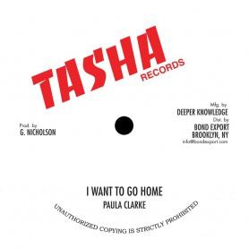 """(10"""") PAULA CLARKE - I WANT TO GO HOME / SINGLE SINGLE - IF I AM WRONG"""