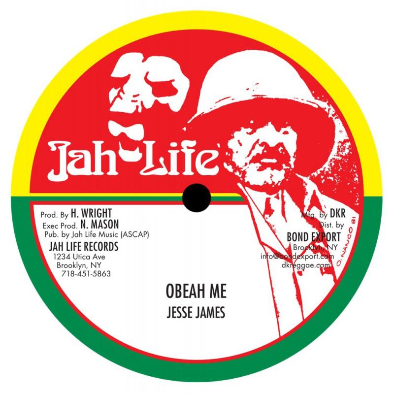 "(10"") JESSE JAMES - OBEAH ME / VERSION"