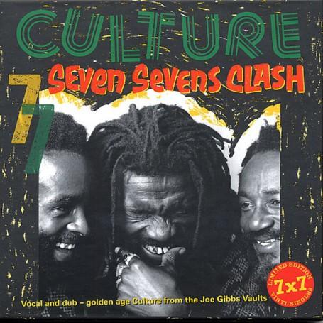 """(7x7"""" Box Set) CULTURE - SEVEN SEVENS CLASH"""