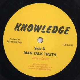 "(12"") ANTHONY DOYLEY - MAN TALK TRUTH / LET US ALL"