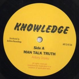 "(12"") ANTHONY DOYLEY - MAN TALK TRUTH / LET US ALL"