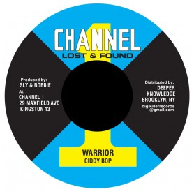 "(7"") CIDDY BOP - WARRIOR / DUB"