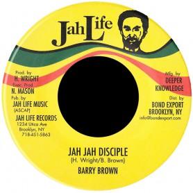 "(7"") BARRY BROWN - JAH JAH DISCIPLES"